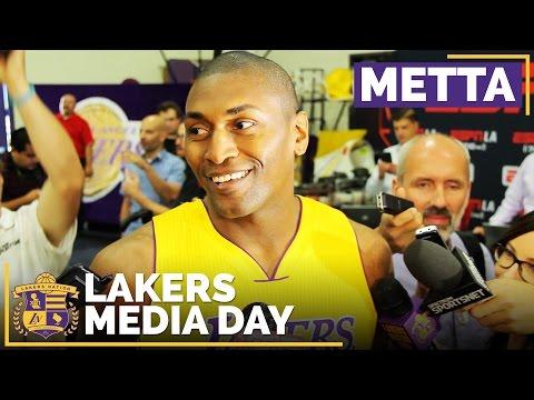 Lakers Media Day 2016: Metta World Peace