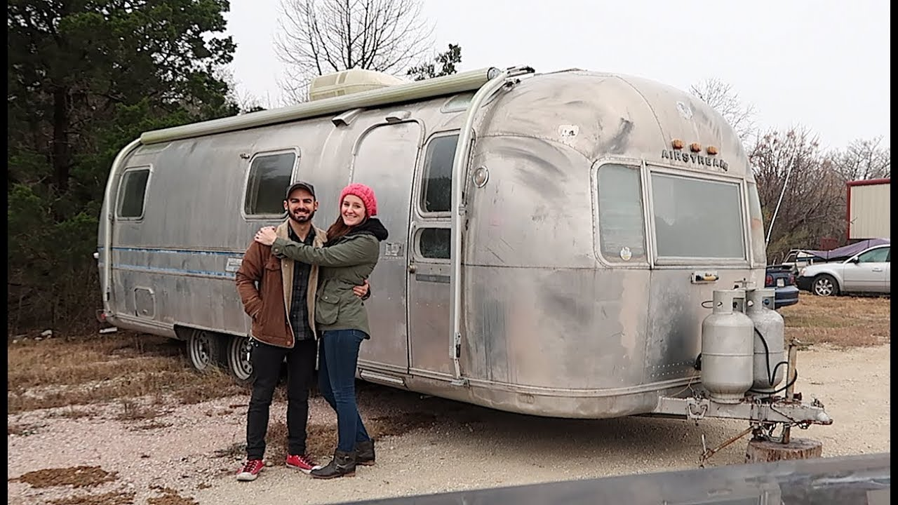 living in an airstream we bought our airstream 1973 ambassador