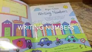 Usborne - Writing Numbers (Wipe Clean)