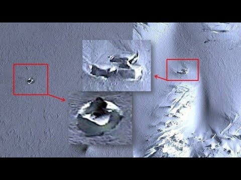 Strange Disk Found 6 Km From An Unknown Base In Antarctica