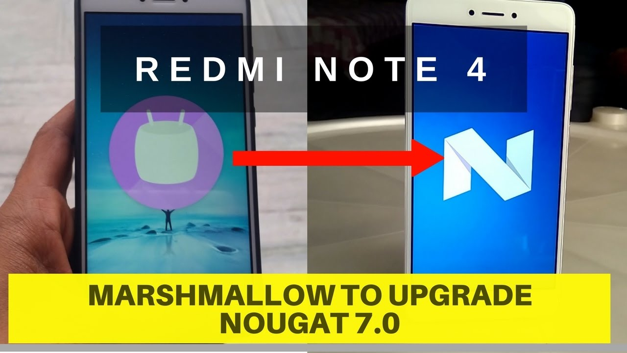 Redmi note 4 update nougat android 7 0 ( No root ) officail methoed