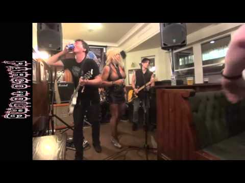 GLITTER TRASH playing Scruffy Murphys Blackpool  7th August '15