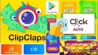 Hướng Dẫn Dùng Auto Click Kiếm Tiền Với ClipClaps