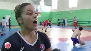 Сборная США по борьбе тренируется во Владикавказе