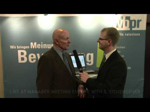 Manager Meeting Europe: Interview Stephen R. Covey