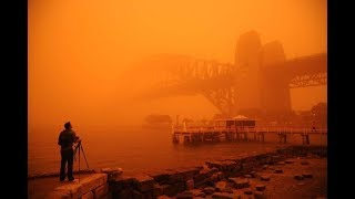 Strong Sydney dust storm Severe weather warning issued