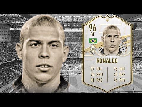 FIFA 21: RONALDO NAZARIO 96 PRIME ICON PLAYER REVIEW I FIFA 21 ULTIMATE TEAM