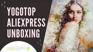 Diamond Painting Unboxing from Aliexpress - What Did She Say??!!!