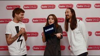 Louis Tomlinson & Steve Aoki Just Hold On or Leave It   Radio Disney