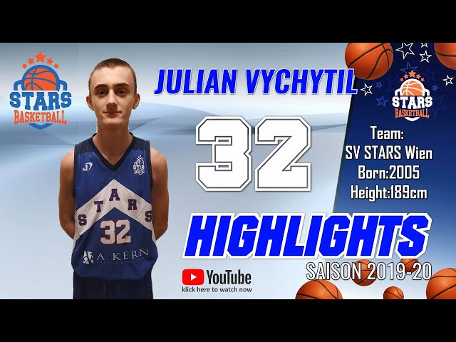 Stars Highlights Factory : JULIAN VYCHYTIL Saison 2019-20