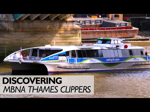 MBNA Thames Clippers Uncovered