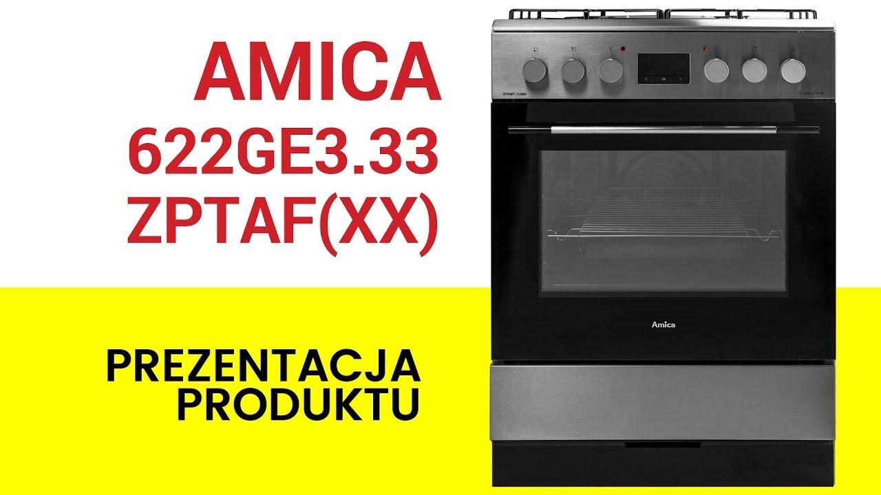 Kuchnia Amica 622ge333zptafxx