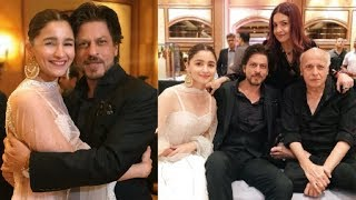 Alia Bhatt & Shahrukh Khan HUG At Her Sister Sakshi Bhatt's WEDDING