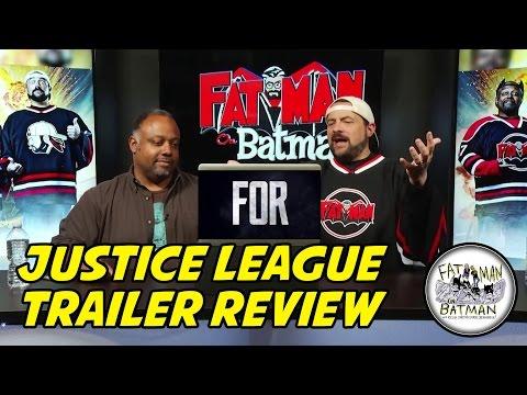JUSTICE LEAGUE TRAILER REVIEW