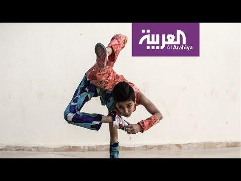 """صباح العربية : """"الطفل العنكبوت"""" يدخل موسوعة غينيس من فلسطين"""