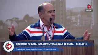Audiência Pública - Infraestrutura Solar do Quita