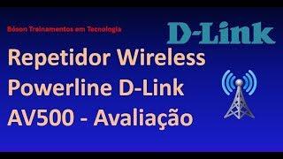 Teste do Repetidor Wireless Powerline AV500 da D-Link - Internet via Rede Elétrica