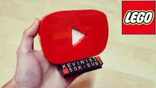 How to Build a LEGO Youtube Play Button