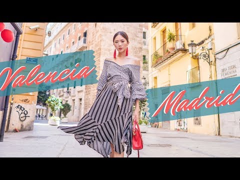 Valencia & Madrid Travel Diary (feat. World Pride 2017) | Camille Co