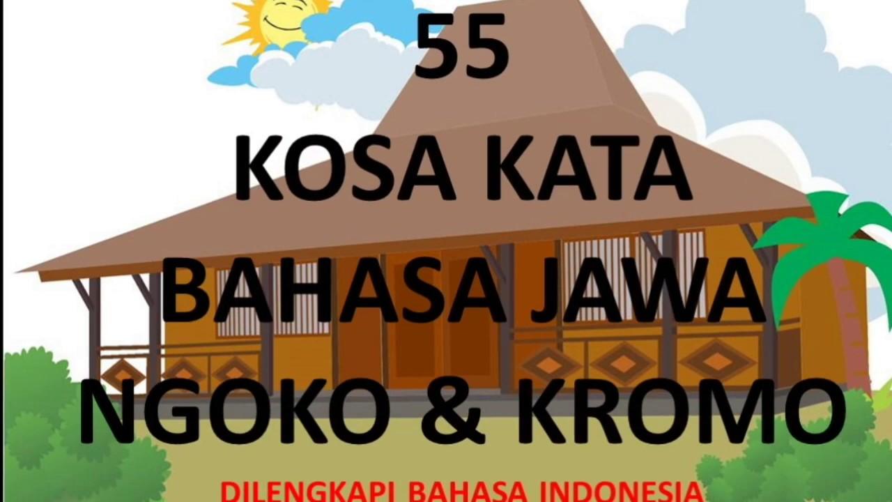 Ayo Belajar Bahasa Jawa : Kosa Kata Jawa #1 - YouTube