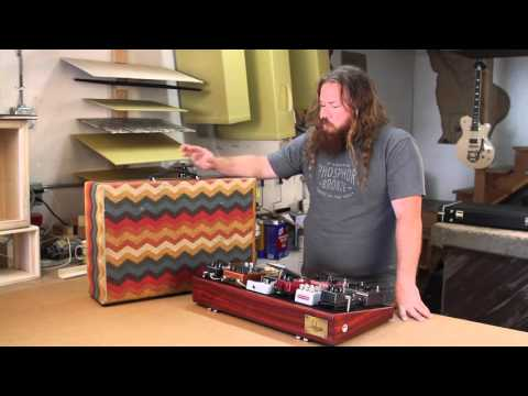 Pedalboard Case Demo from Salvage Custom