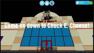 CHUCK E. CHEESE COMMERCIAL! Roblox