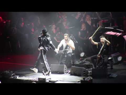 2 Cellos - Smooth Criminal & Billie Jean (Stožice, 08.04.2017)