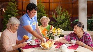 Питание в пансионате для пожилых людей ЗАБОТА