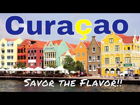 CURACAO // YUMMY GRILLED CONCH AT A UNESCO SITE? // APRIL 2017