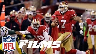 #10 Kaepernick Torches the Packers (2012 Divisional) |  NFL Films | Top 10 Playoff Performances