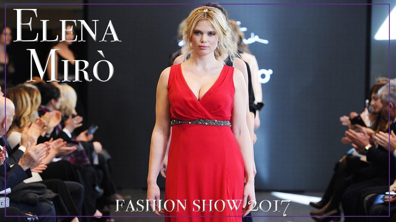 0c01eea50dfe Elena Mirò Fashion Show 2017 vlog - CURVY lookbook