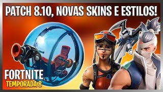 FORTNITE UPDATE 8.10! HAMSTER BALL, NEW SKINS, NEW PIRATE WEAPON AND MORE