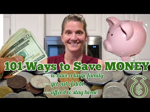 10 Money-Saving Strategies for Large Families