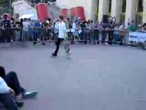 TROC'OUT 2008 Contest skateboard Troca Paris Joseph biais 2
