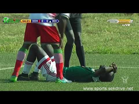 Kenya vs Burundi second half