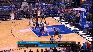 1st Quarter, One Box Video: Orlando Magic vs. Milwaukee Bucks