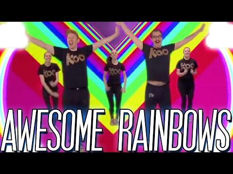 Koo Koo Kanga Roo - Awesome Rainbows (Dance-A-Long)