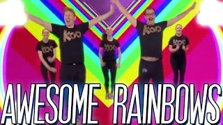 Koo Koo Kanga Roo - Awesome Rainbows (Dance-A-Long)