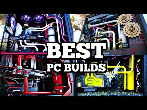 My Best ULTIMATE Custom Water Cooled Gaming PC Builds for 2017 - Time Lapse