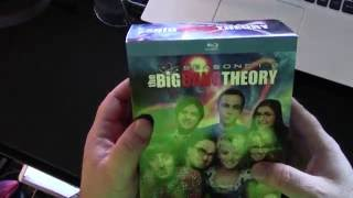 Uboxing Big Bang Theory Blue Ray off Amazon 2016 season 1 - 8