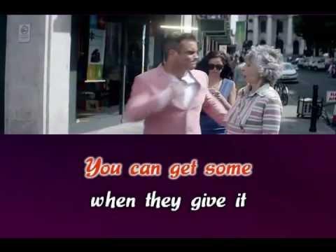 Robbie Williams - Candy KARAOKE