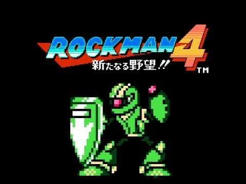 Rockman 4 Minus Infinity No Damage Run