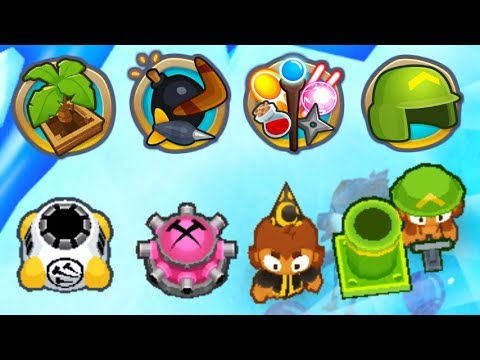 Can You Beat 4 Rounds With 4 Different Tower Categories? (Bloons TD 6)