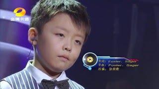 中国新声代  JEFFREY LI -A MOTHER PRAYER -李成宇
