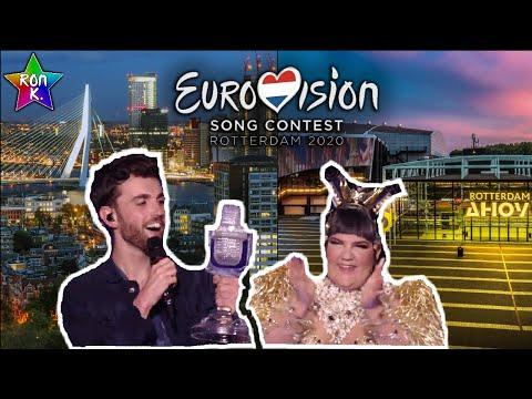 Rotterdam (Ahoy Arena) Will Host Eurovision 2020!