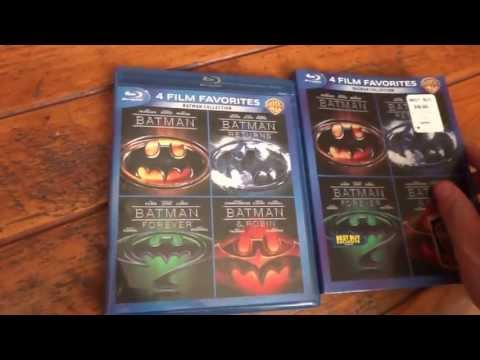 Batman Collection Bluray Unboxing