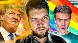 ГЛУПЫЙ тиктокер Володя XXL ТРАВИТ геев и 3 Мировая война (Иран vs США)