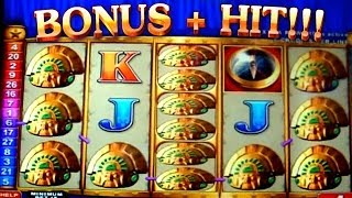 Bonus + HUGE HIT on Quest for Riches - 5c Aristocrat Video Slots