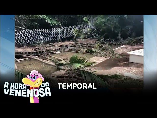 Mansão de Otávio Mesquita é destruída durante temporal