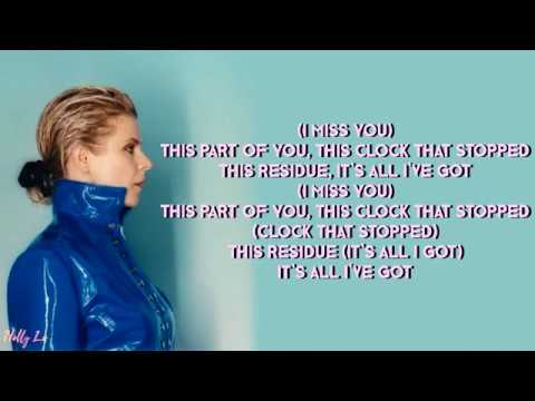 Robyn - Missing U (with LYRICS)